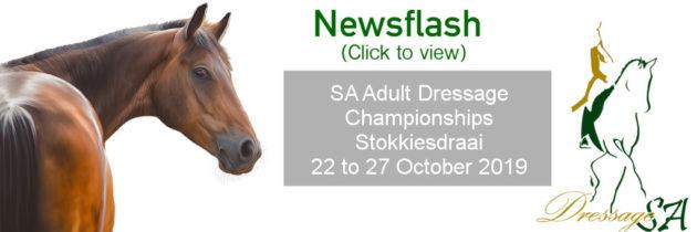 SA Adult Dressage Championships