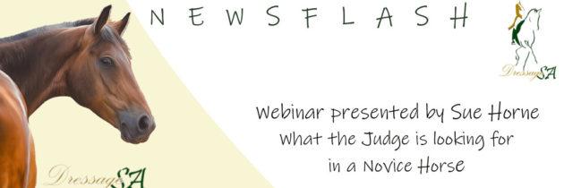 Webinar on Monday 7 September 2020