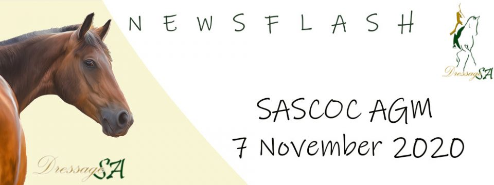 SASCOC –  Documents: Annual General Meeting 07 November 2020
