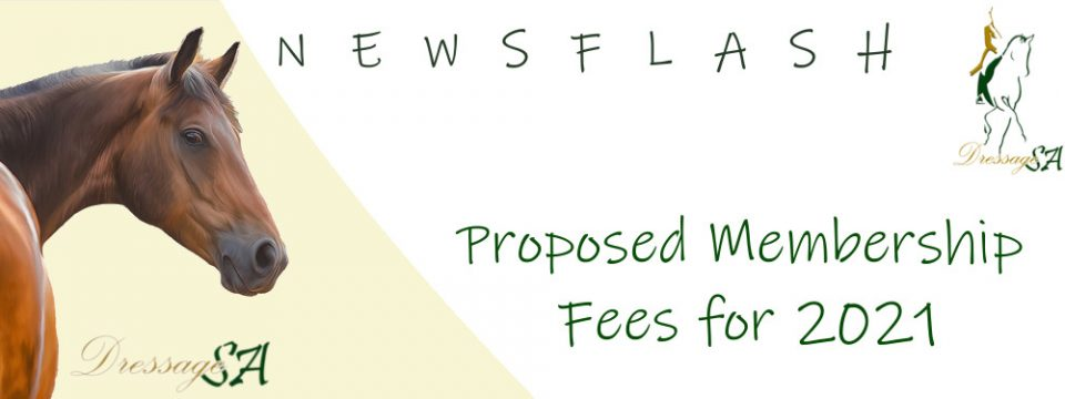 Proposed Membership Fees for 2021