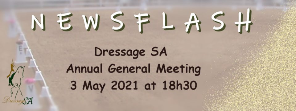 Annual General Meeting: 3 May 2021