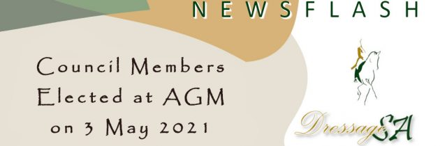Council Members Elected at the AGM on 3 May 2021